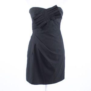 Miss Me black strapless sheath dress S